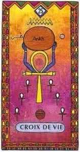 tarot egyptien croix de vie